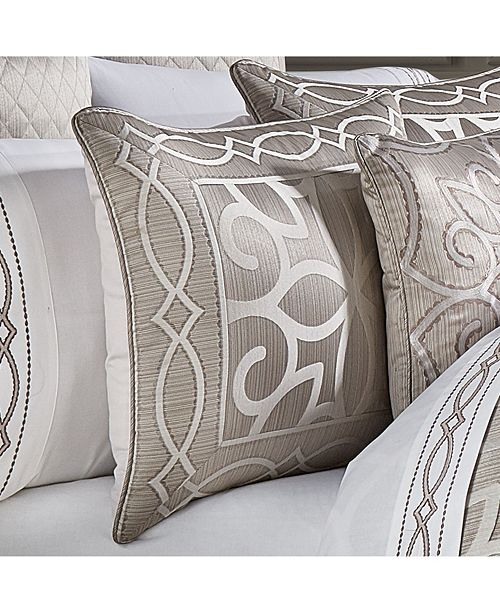 J Queen New York Deco King Comforter Set, 4 Piece & Reviews   Bed