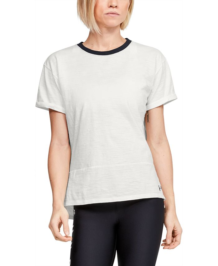 Under Armour - Charged Cotton® Ringer T-Shirt