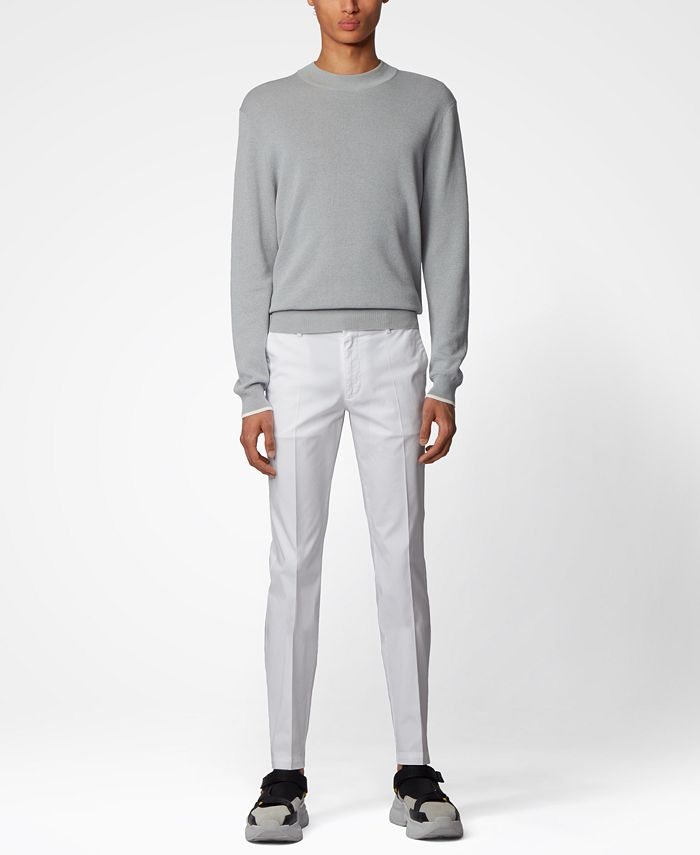 Hugo Boss - Men's Kaito1 White Pants