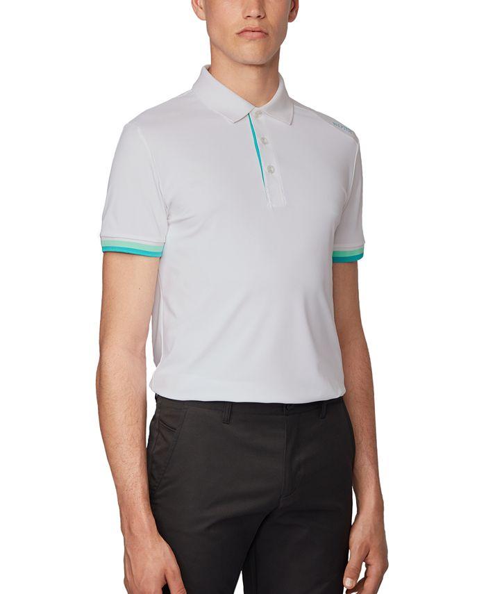 Hugo Boss - Men's Paule 6 White Polo Shirt