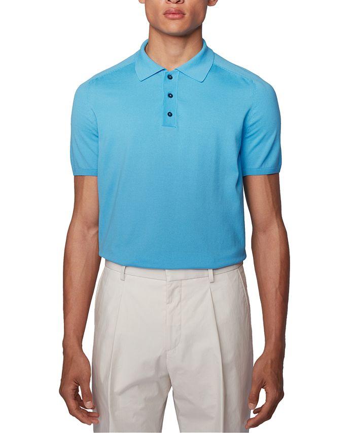Hugo Boss - Men's Ipaolo Turquoise Polo Shirt