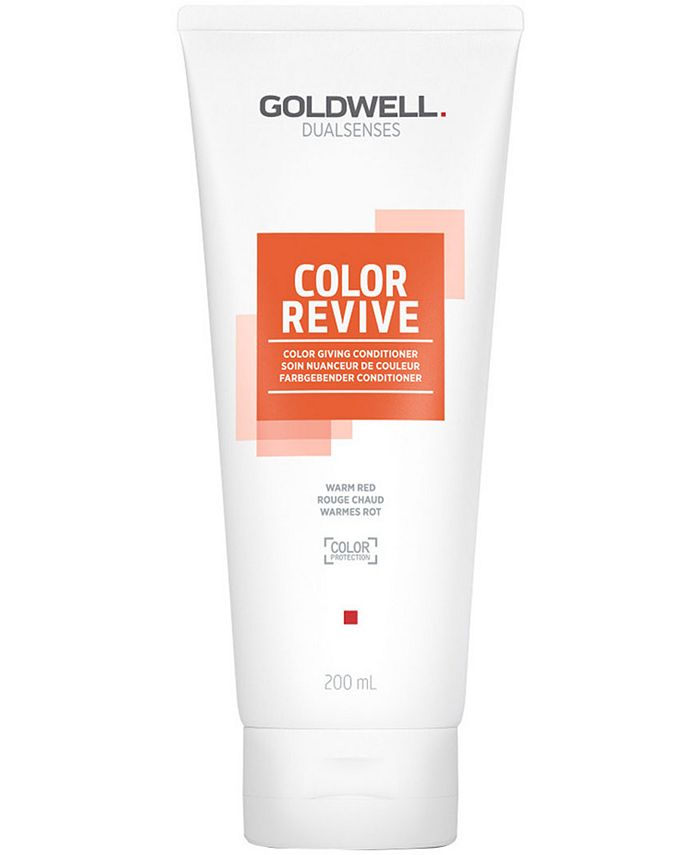 Goldwell - Dualsenses Color Revive Conditioner - Warm Red, 6.7-oz.