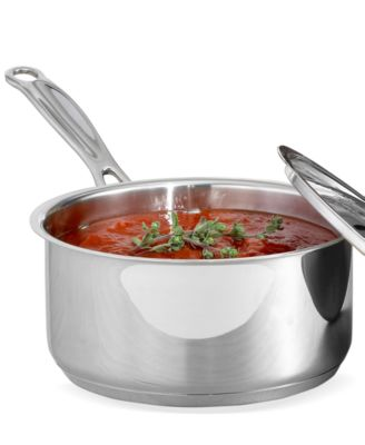 Cuisinart Chef's Classic Stainless Steel 1.5 Qt. Covered Saucepan