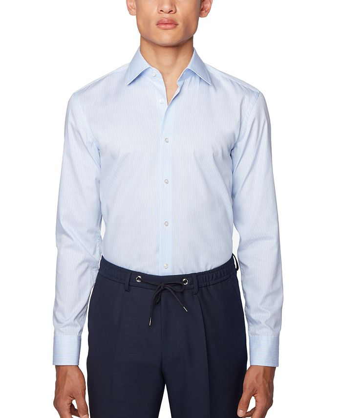 Hugo Boss - Men's Jango Light Blue Shirt