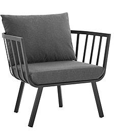 Modway Riverside Outdoor Patio Aluminum Armchair