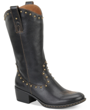 b.o.c. by Born Rhonda Cowboy Boots Women's Shoes $ 75.00