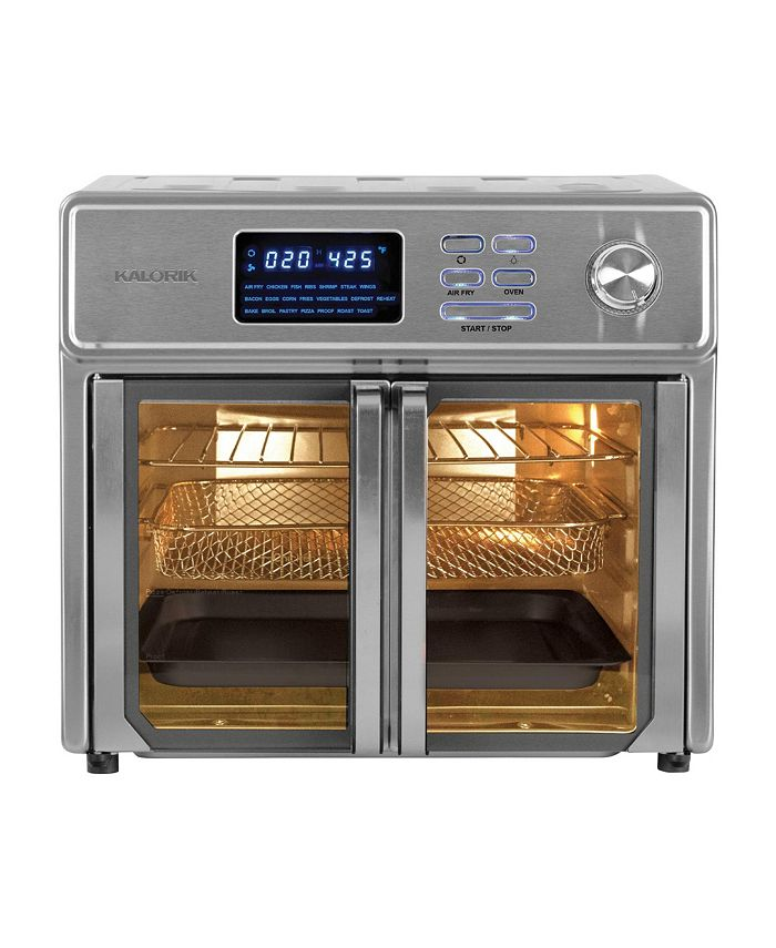 Kalorik - 26 Quart Digital Maxx Air Fryer Oven, Stainless Steel