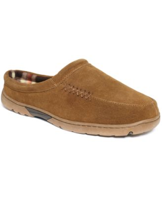 Rockport Men S Lined Moccasin Slippers Shoes Men Macy S