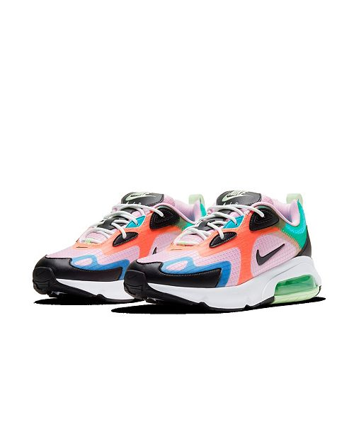 Nike Women's Air Max 200 SE Running Sneakers from Finish ...