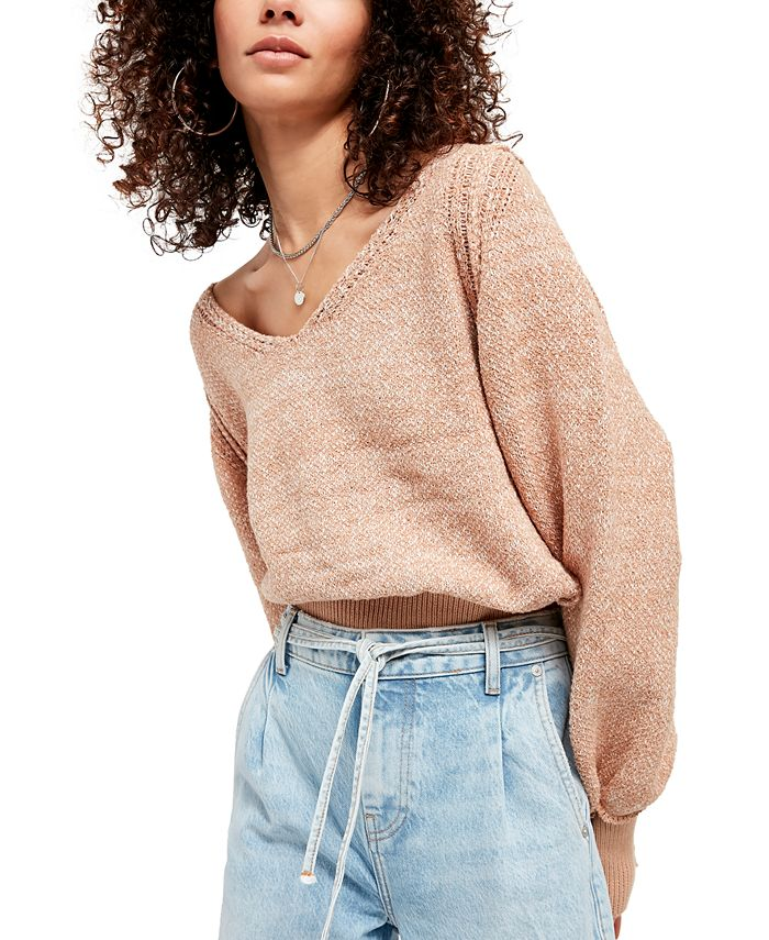 Free People - Riptide V-Neck Sweater