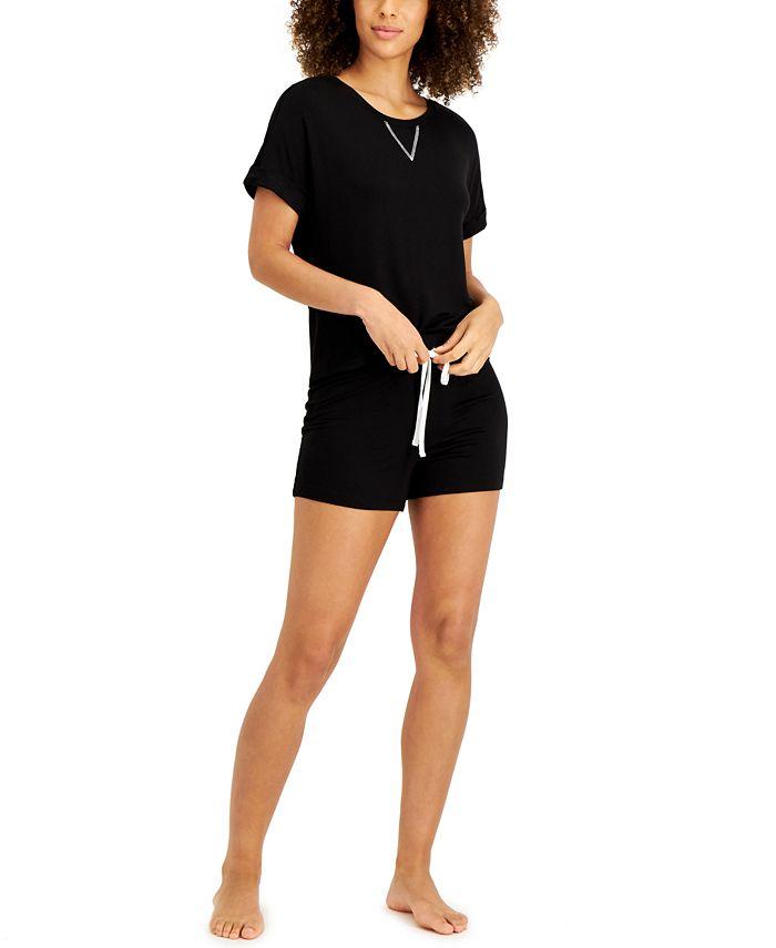 Alfani - Lounge Shorts Set