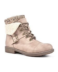 Cliffs by White Mountain Women's Daley Lace-Up Bootie