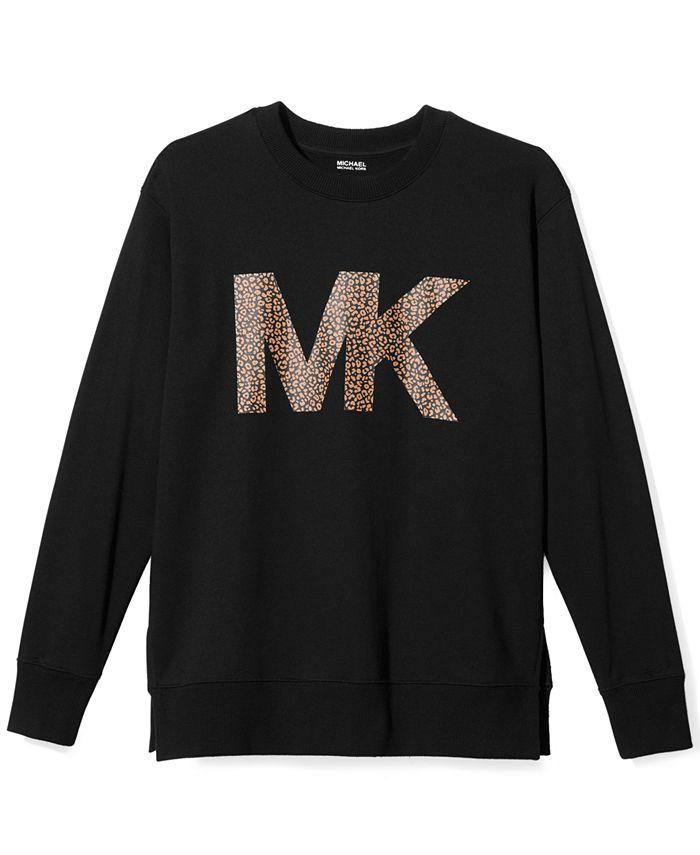 Michael Kors - Logo Split-Hem Sweatshirt