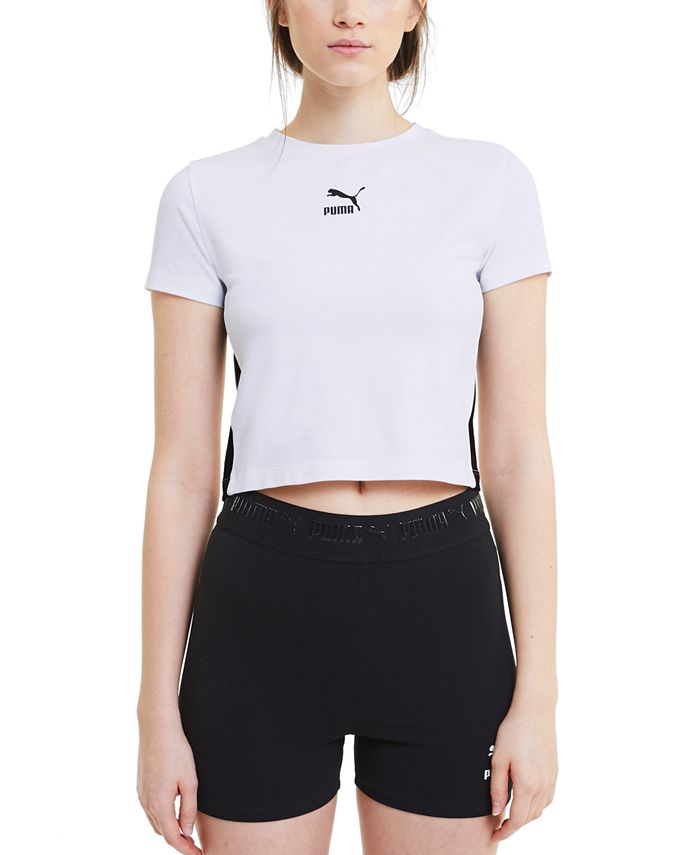 Puma - Classics Fitted Cropped Top