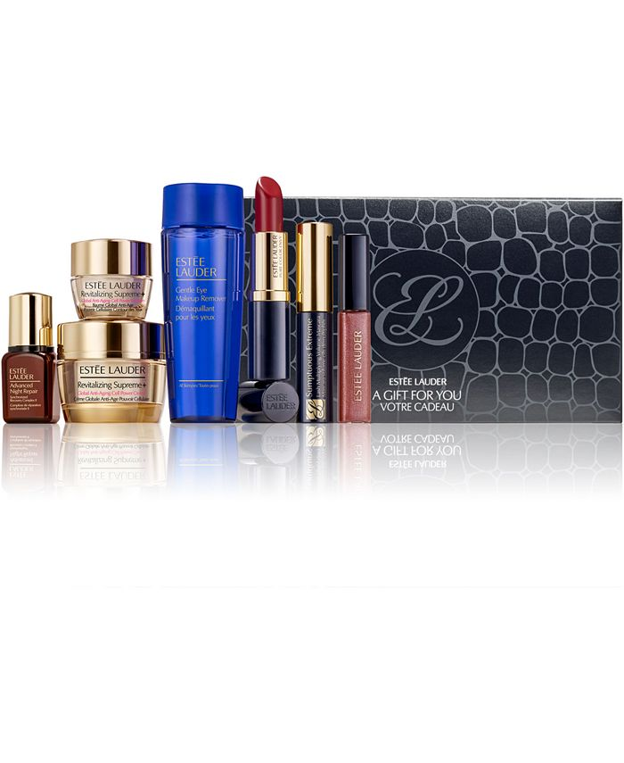 Estée Lauder - Choose Your FREE 7pc Gift with any $39.50  Purchase. A $142 Value!
