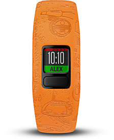Garmin Kid's vivofit jr. 2 Light Side Orange Silicone Strap Smart Watch 11mm