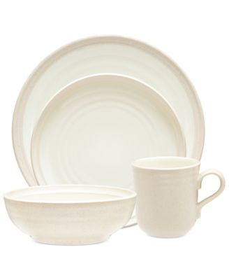 Noritake Dinnerware, Colorvara White 4-Piece Place Setting