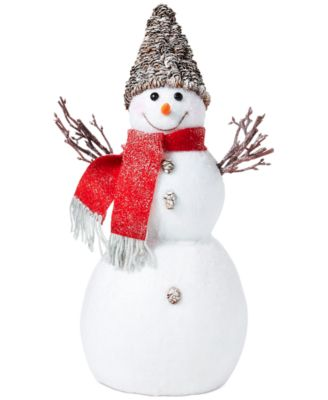 Chalet You stay, Cozy Snowman, Created for Macy's