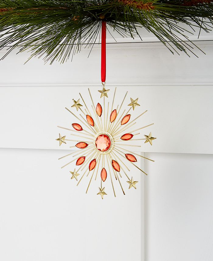 Holiday Lane - Renaissance Beaded Starburst Ornament