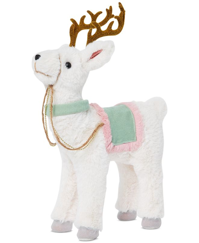 Holiday Lane Shimmer and Light Reindeer, Created for Macy's