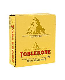 Toblerone Milk Chocolate Bar 1.76 oz, 24 Count