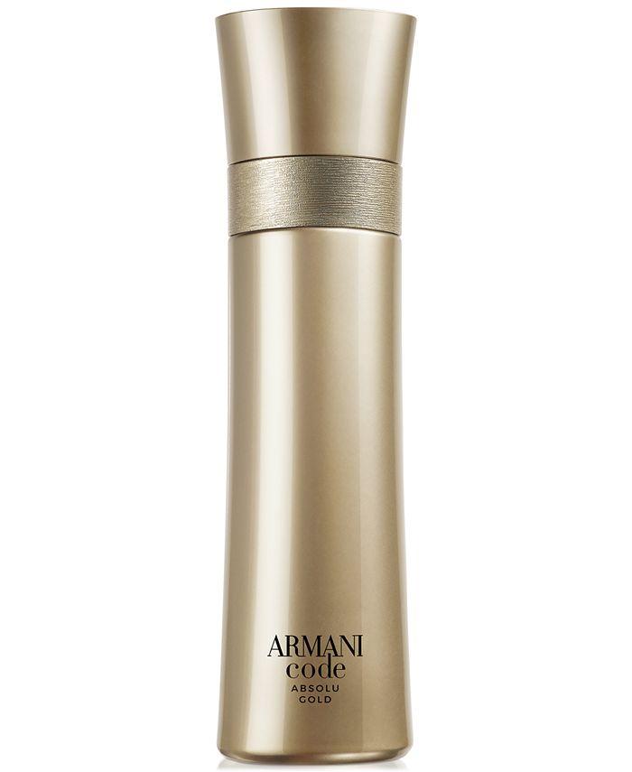 Giorgio Armani - Men's Armani Code Absolu Gold Eau de Parfum Spray, 3.7-oz.