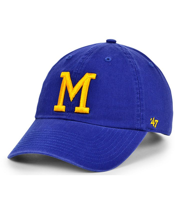 '47 Brand - Milwaukee Brewers Cooperstown Clean Up Cap