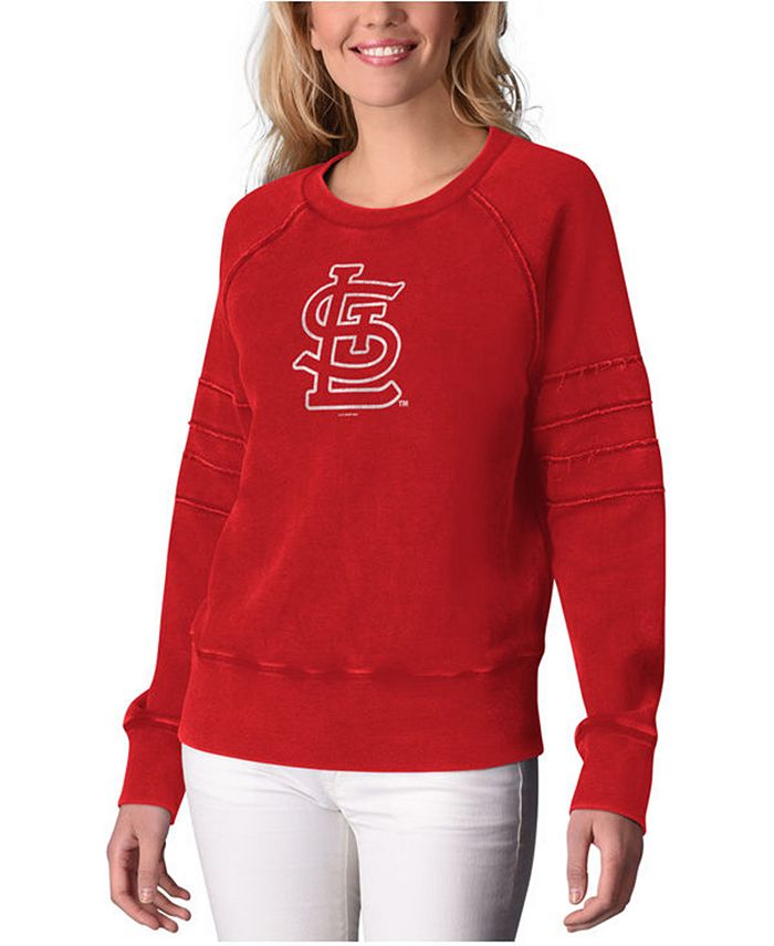 Touch by Alyssa Milano - Women's St. Louis Cardinals Bases Loaded Scoop Neck Top