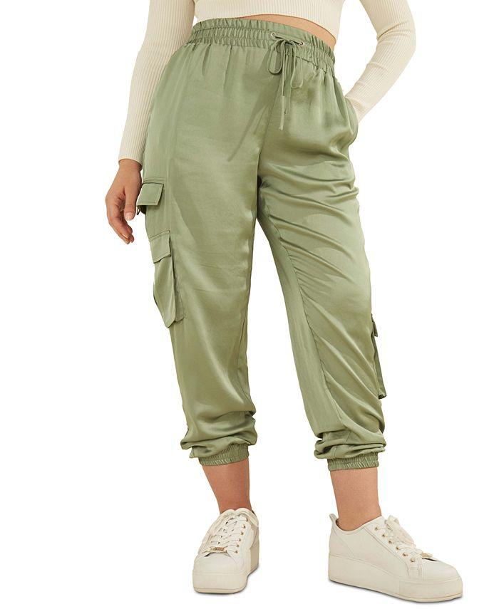 GUESS - Annka Charm Cargo Jogger Pants