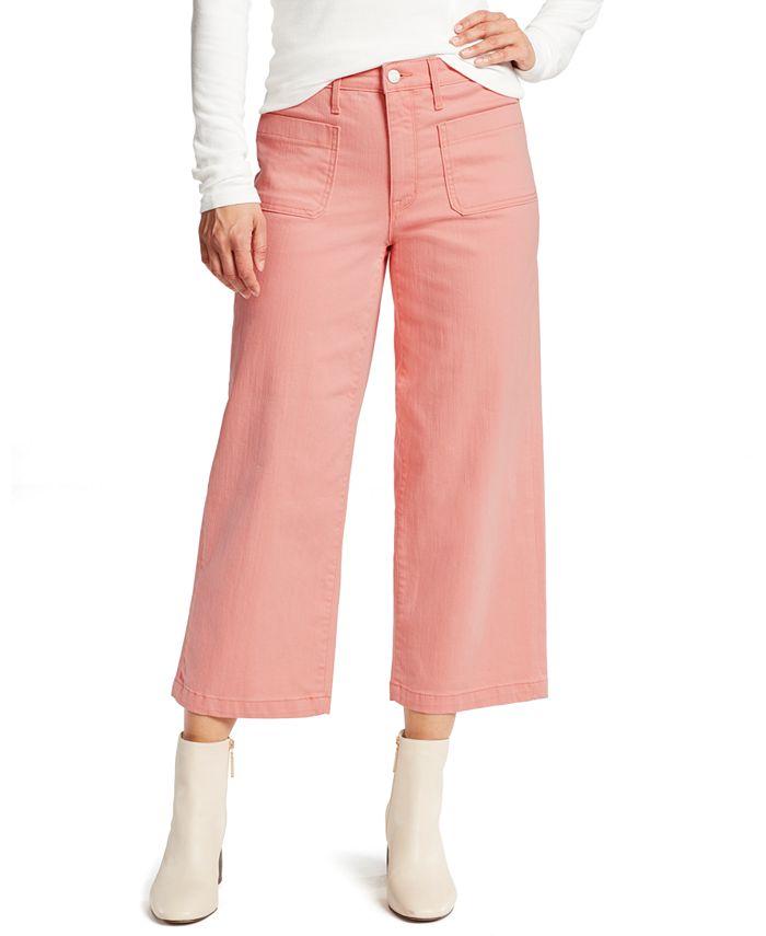 Sanctuary - Wide-Leg Cropped Jeans