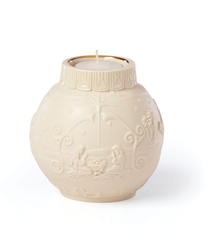 Lenox - Ornamental Glow Nativity Votive Candleholder