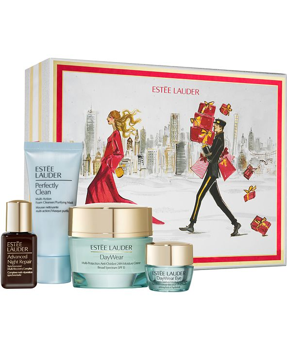 Estee Lauder 4-Pc. Protect + Hydrate Skincare Gift Set