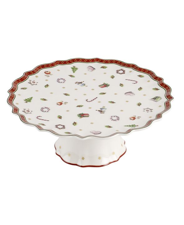 Villeroy & Boch Toys Delight Footed cake plate small