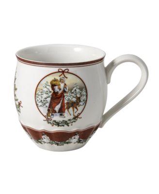 Toys Fantasy Jumbo Mug, Santa with forest animals