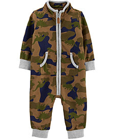 Carter's Baby Boy Camo French Terry Jumpsuit