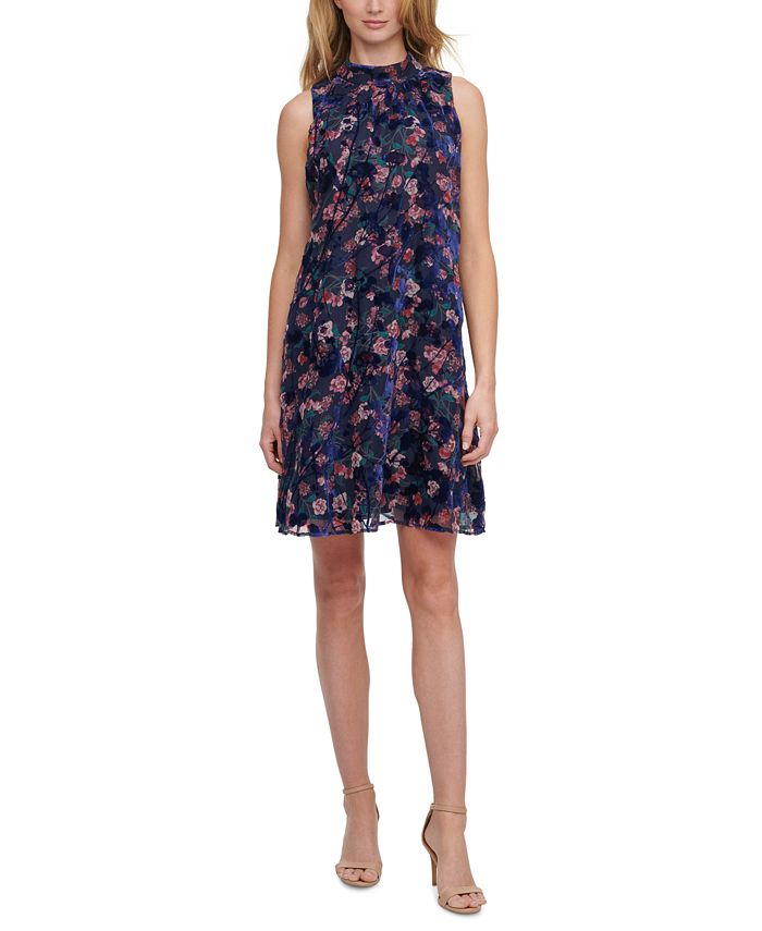 Tommy Hilfiger - Floral Burnout A-Line Dress