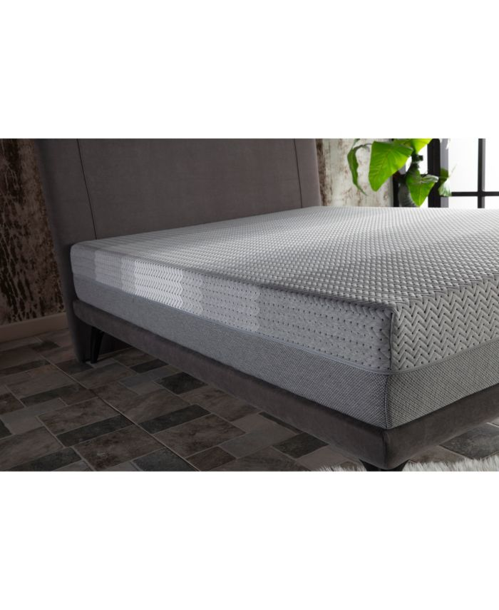 Hudson Collection X Silence Gel-Infused Memory Foam Mattress- King & Reviews - Mattresses - Macy's