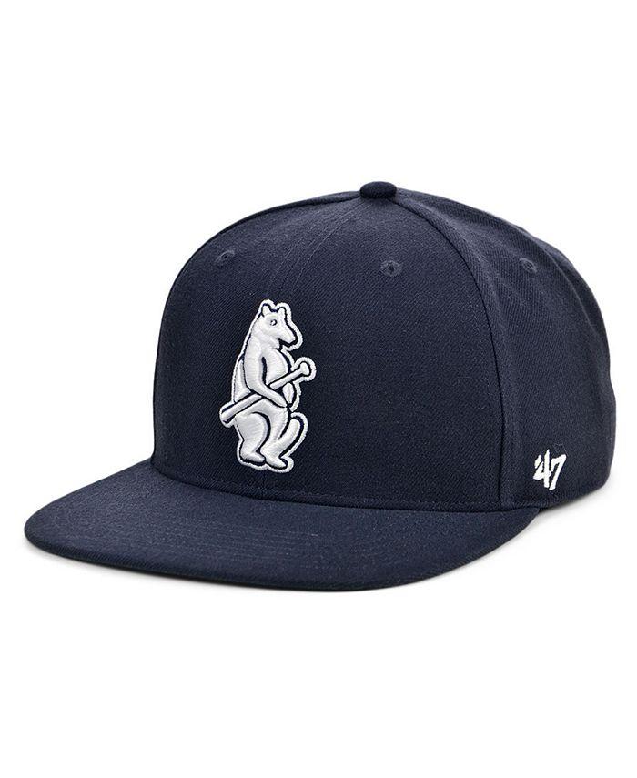 '47 Brand - Chicago Cubs Coop Shot Snapback Cap