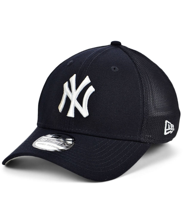 New Era New York Yankees Team Classic Mesh 39THIRTY Cap & Reviews - Sports Fan Shop By Lids - Men - Macy's