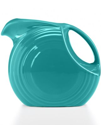 Fiesta Turquoise 67.75-oz. Large Disk Pitcher