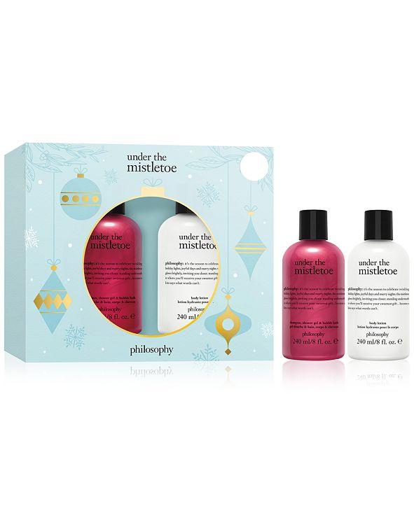 philosophy 2-Pc. Under The Mistletoe Bath & Body Gift Set