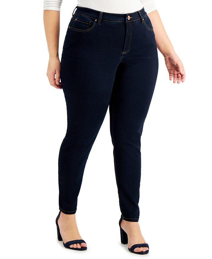 INC International Concepts - Plus Size Essex Super Skinny Jeans