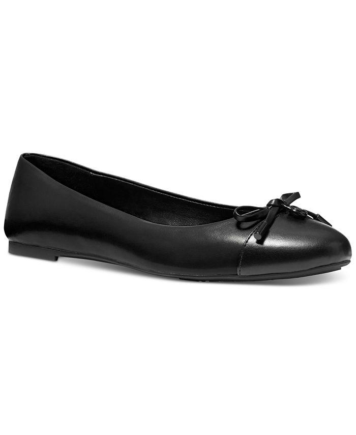 Michael Kors - Melody Cap-Toe Bow Flats