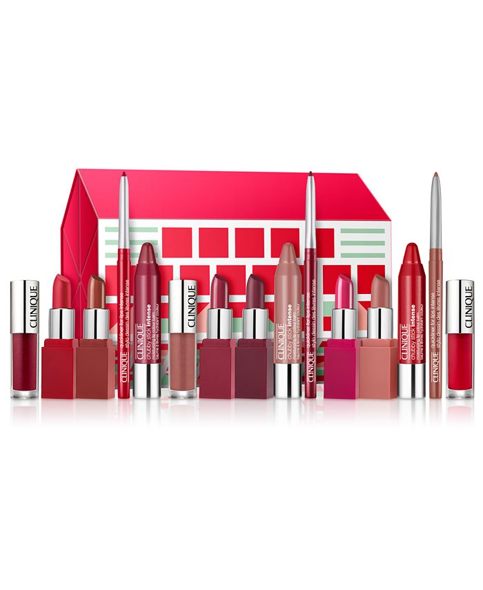 Clinique - 15-Pc. Ultimate Lip Roll Out Gift Set