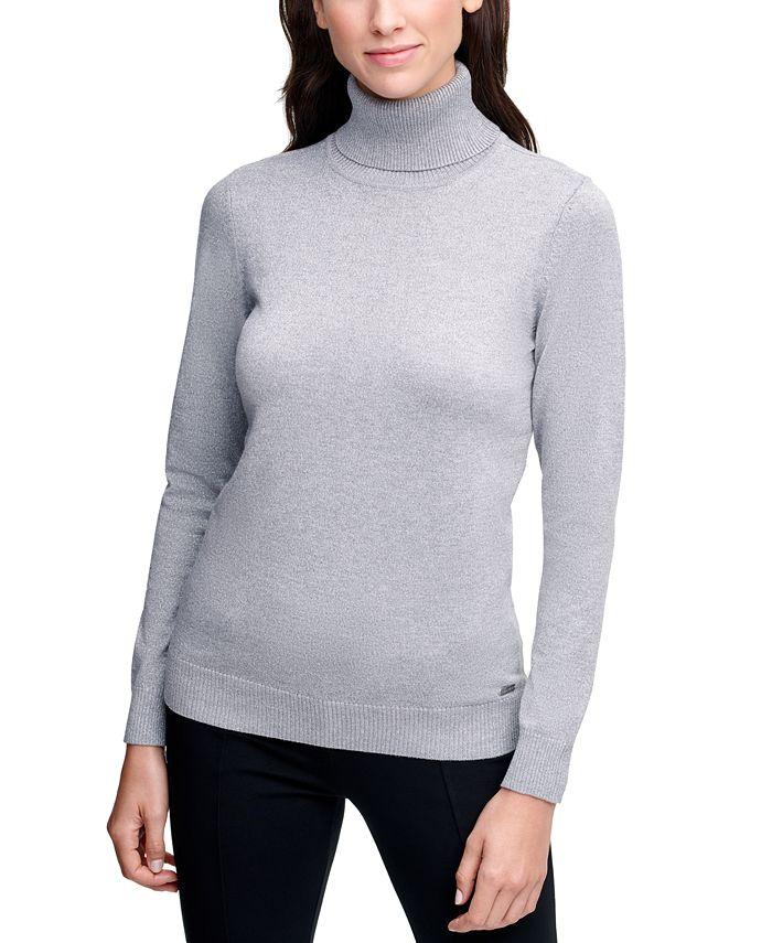 Calvin Klein - Solid Turtleneck Sweater