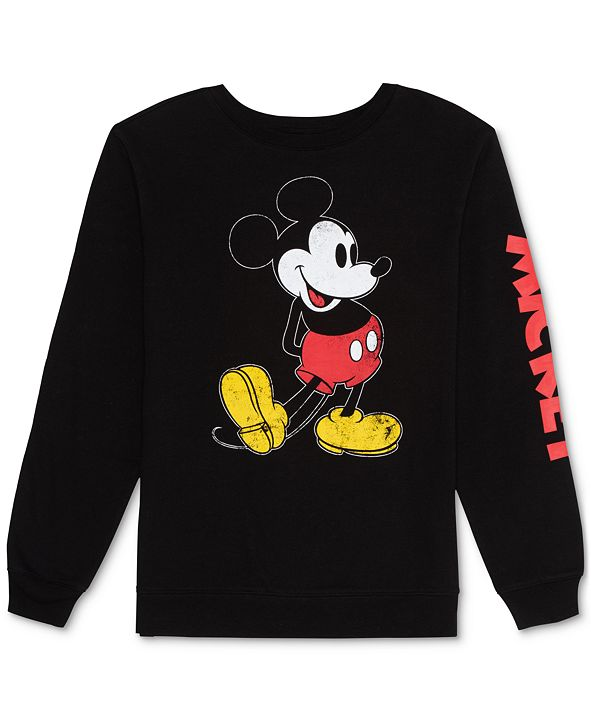 Disney Juniors' Mickey Mouse Sweatshirt