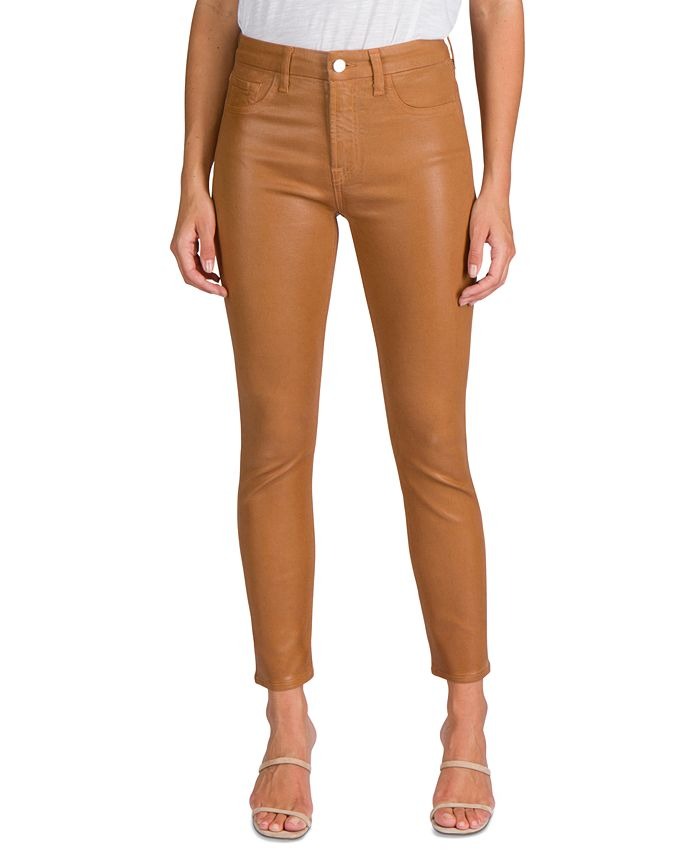 Jen7 by 7 For All Mankind - Coated Skinny Jeans