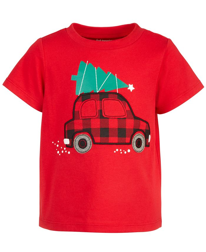 First Impressions - Baby Boys Holiday Car Cotton T-Shirt