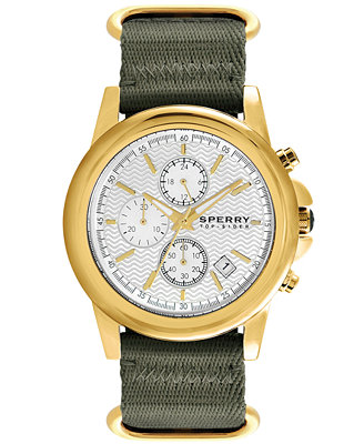 sperry top sider s chronograph halyard green