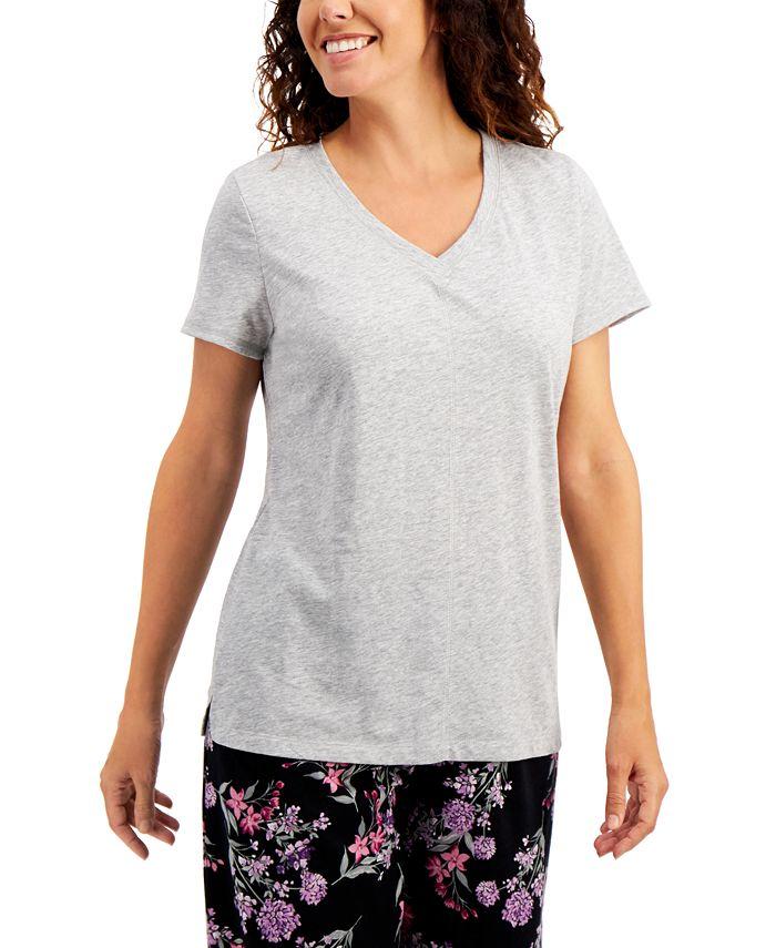 Charter Club - V-neck Sleep T-Shirt